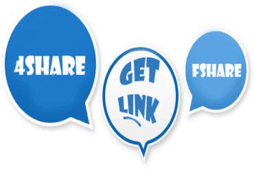 Hướng dẫn Getlink 4share và fshare