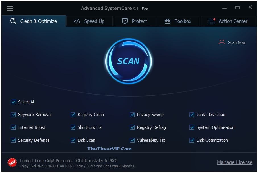 IObit Advanced Systemcare Pro mới nhất Final - Phiên bản 10.3.0.739 iobit advanced systemcare pro mới nhất IObit Advanced Systemcare Pro mới nhất Final IObit Advanced Systemcare Pro moi nhat Final phien ban 10