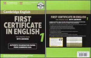 First Certificate in English Cambridge full trọn bộ từ quyển 1 đến 7