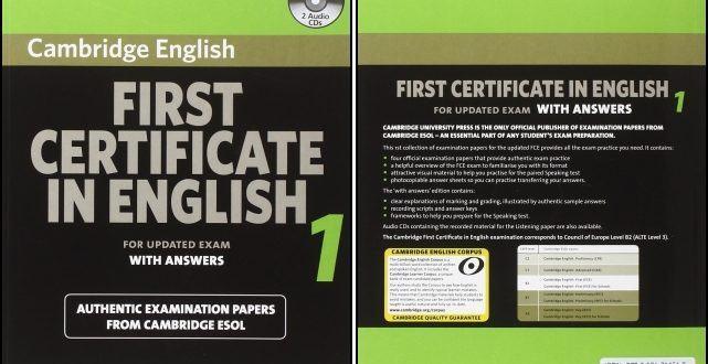 First Certificate in English Cambridge full trọn bộ từ quyển 1 đến 7 first certificate in english First Certificate in English full trọn bộ (FCE 1-7) First Certificate in English Cambridge full tron bo tu quyen 1 den 7 crackman